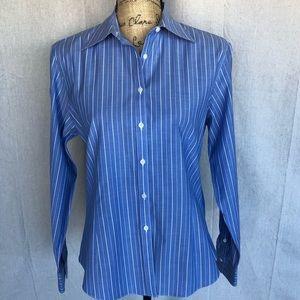 Brooks Brothers Blue Striped Dress Shirt